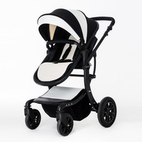 Baby stroller Teknum pram can sit adjacent high landscape folding children's four seasons universal for newborns basket