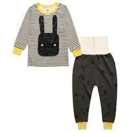 2016 Autumn Winter Children Clothes Set Pijamas Infantil Kids Unicornio Pyjamas Baby Pajamas Kids Clothing Sets