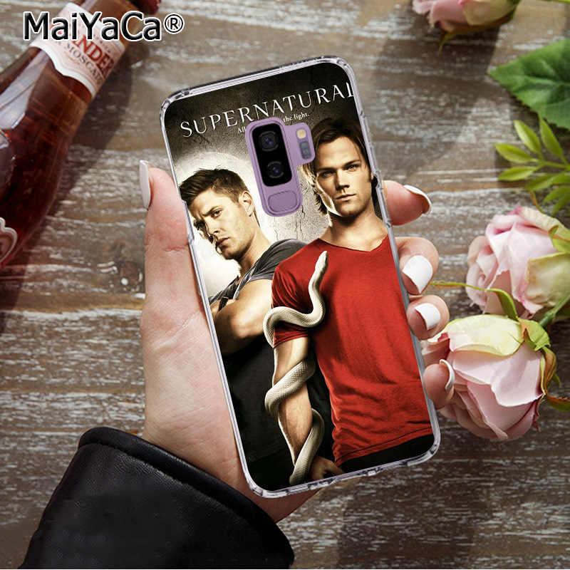MaiYaCa Сверхъестественное Джаред Падалеки Мягкий ТПУ шаблон чехол для телефона для samsung S9 S9 плюс S5 S6 S6edge S6plus S7 S7edge S8 S8plus
