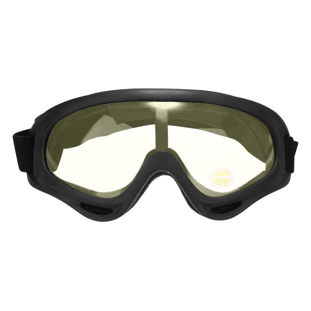 1PC Motorcycle Motocross ATV Off Road Adult Goggles Glasses Eyewear Colorful/Yellow/Dark Brown/Clear For Outdoor Sport