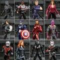 Capitán América: Guerra Civil BRUJA ESCARLATA Pantera Negro Winter Soldier Falcon Acción PVC Figura de Colección Modelo de Juguete