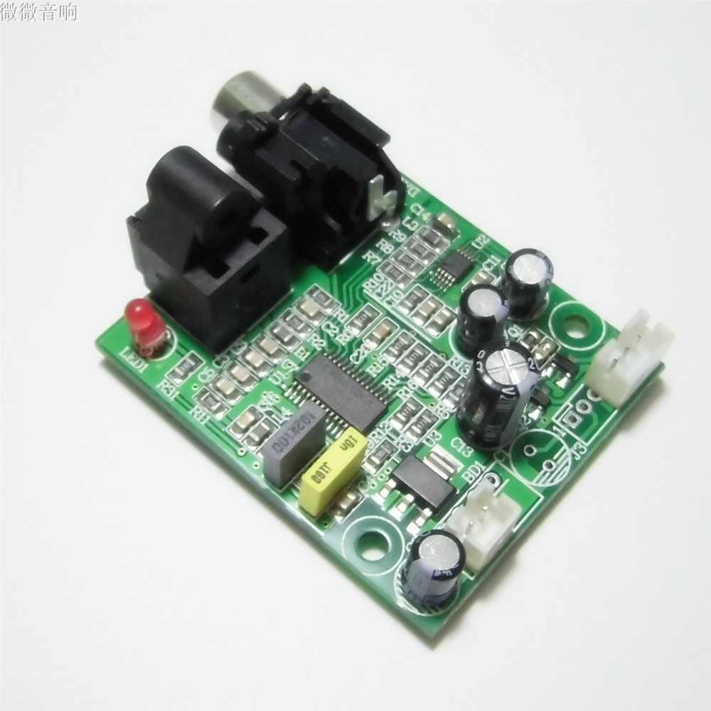 DAC デジタルデコーダ 24bit 192 光ファイバ同軸デジタル信号入力ステレオオーディオ出力 Decod アンプ PC の TV