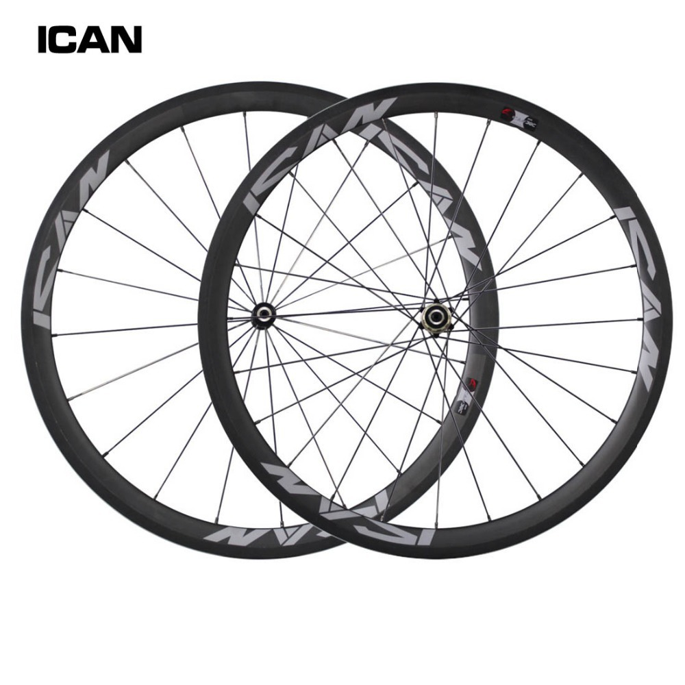 2015 New chinese carbon wheels 38mm clincher 23mm width road bike wheelset novatec hubs with Sapim spokes SP-38C far sports carbon wheels 50mm clincher 23mm wide with novatec hub and sapim spokes novatec carbon wheels fsc50cm 23 700c