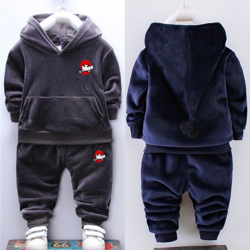 Kids Pants Suits Clothing-Sets Hoodie Spring Autumn Baby-Boys-Girls Children Fashion