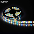 5M RGBW 5050 LED strip Light Waterproof DC12V SMD 60Leds/M 300 LEDS Flexible Bar Light strips RGB + White/WarmWhite light