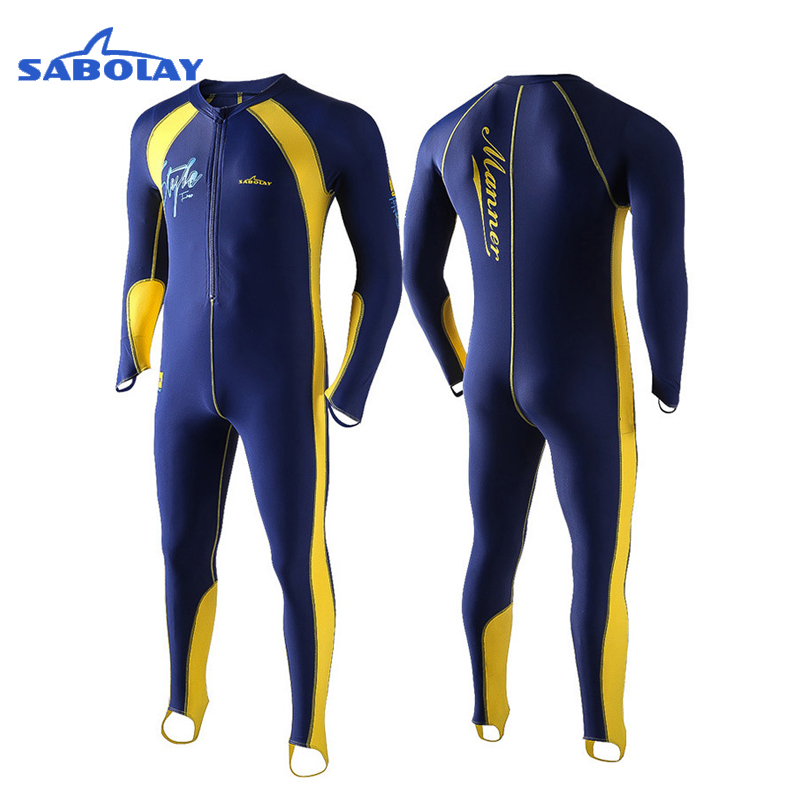 Swimsuit Anti-UV UPF50+ Surfing Suits Scuba Wetsuit Spearfishing Sunscreen Wet Suit Diving Equipment Spear Fishing Bathing men's
