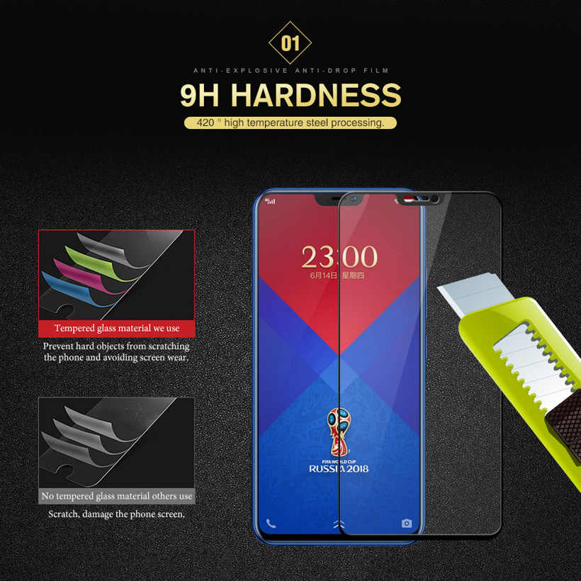 3D закаленное Стекло для Vivo X21 X20 X7 X6 плюс Экран протектор для Vivo V9 Y79 V7 Y85 Y91i Y95 Y81i Y81 защитная пленка Стекло