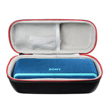 лучшая цена New EVA Carrying Protective Speaker Box Cover Pouch Bag Case for Sony XB21/Sony SRS XB21/Sony SRS-XB21 Bluetooth Speaker Bags