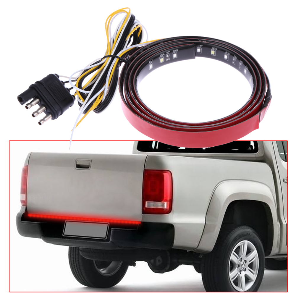 12v 22w 2200lm flexible automobile led strip light car truck door 12v 22w 2200lm flexible automobile led strip light car truck door bar lights rear tail lights car strip lighting car styling in car light assembly from aloadofball Gallery