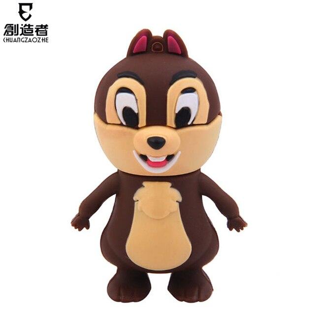 16g usb flash drive cartoon squirrel usb flash drive usb flash drive usb flash drive