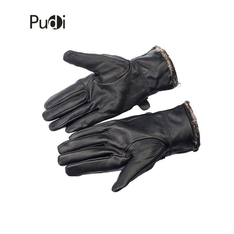 Guantes de cuero genuino GL7002 para hombre, guantes de cuero de - Accesorios para la ropa - foto 3