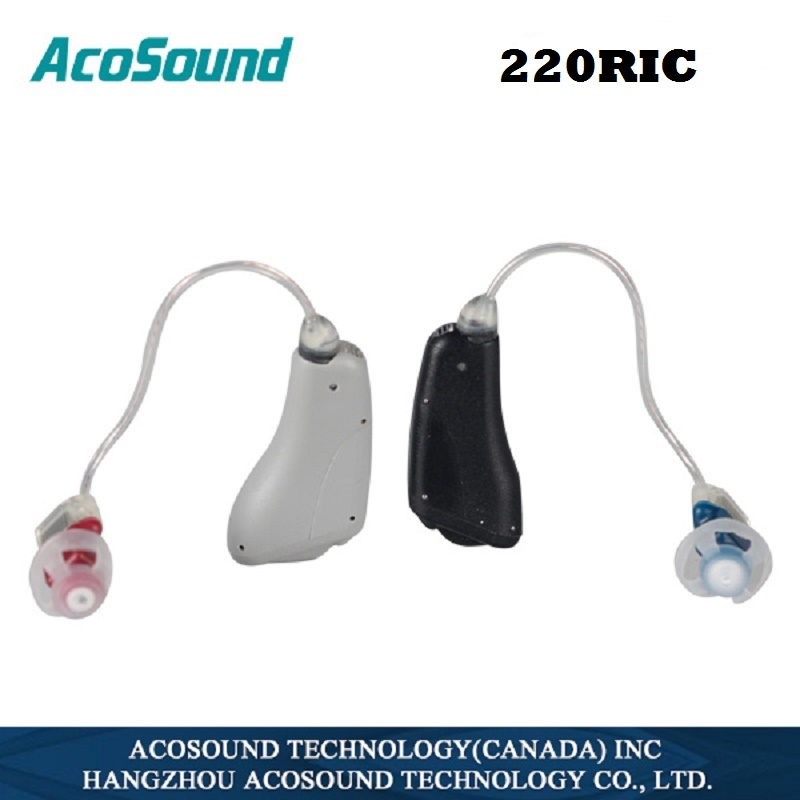 Acosound 220RIC Digital Hearing Aids Ear Aid Ear Sound Amplifier RIC Hearing Device Ear Care Tools Mix Colors acosound invisible cic hearing aid digital hearing aids programmable sound amplifiers ear care tools hearing device 210if