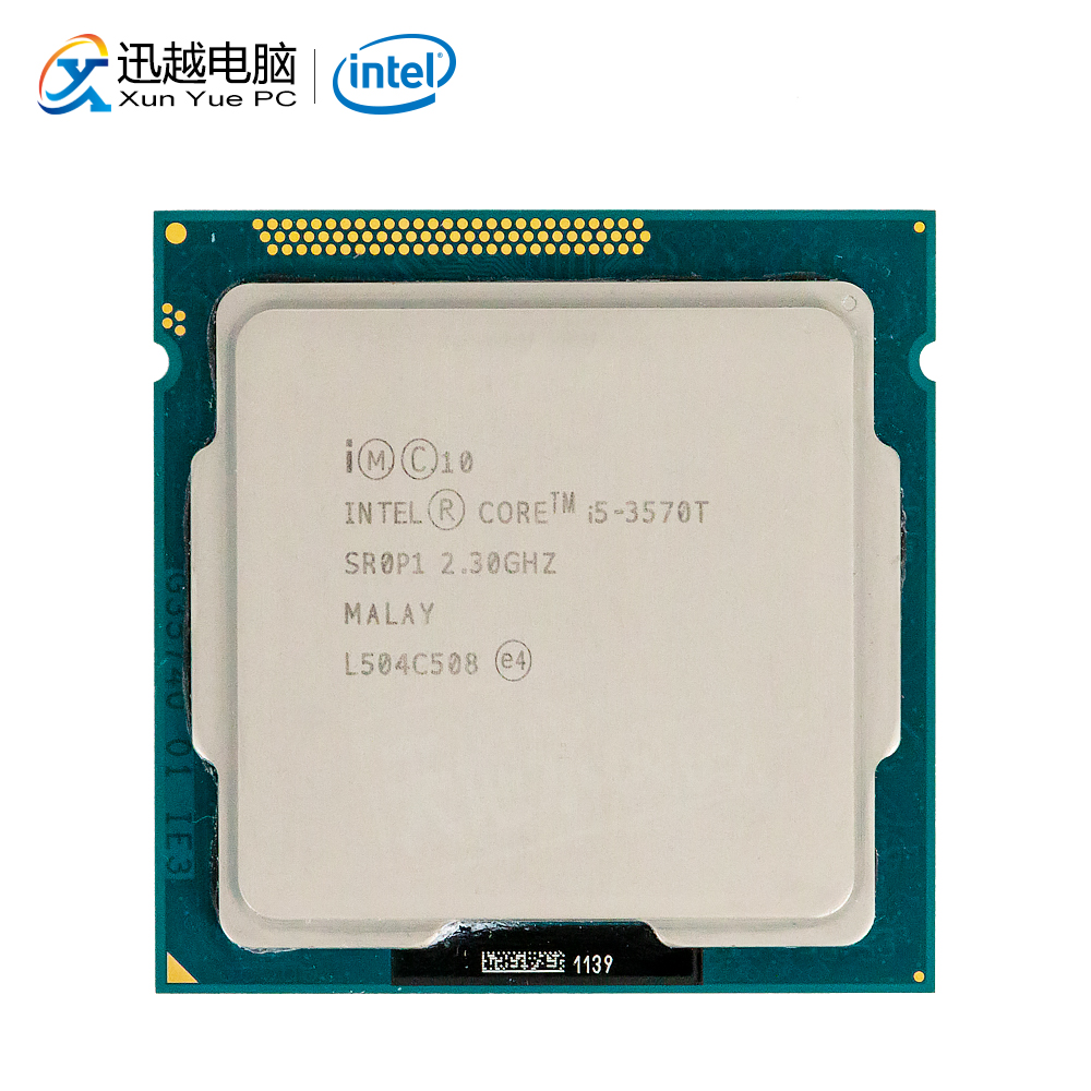 Intel Core I5-3570T Desktop Processor I5 3570T Quad-Core 2.3GHz 6MB L3 Cache LGA 1155 Server Used CPU