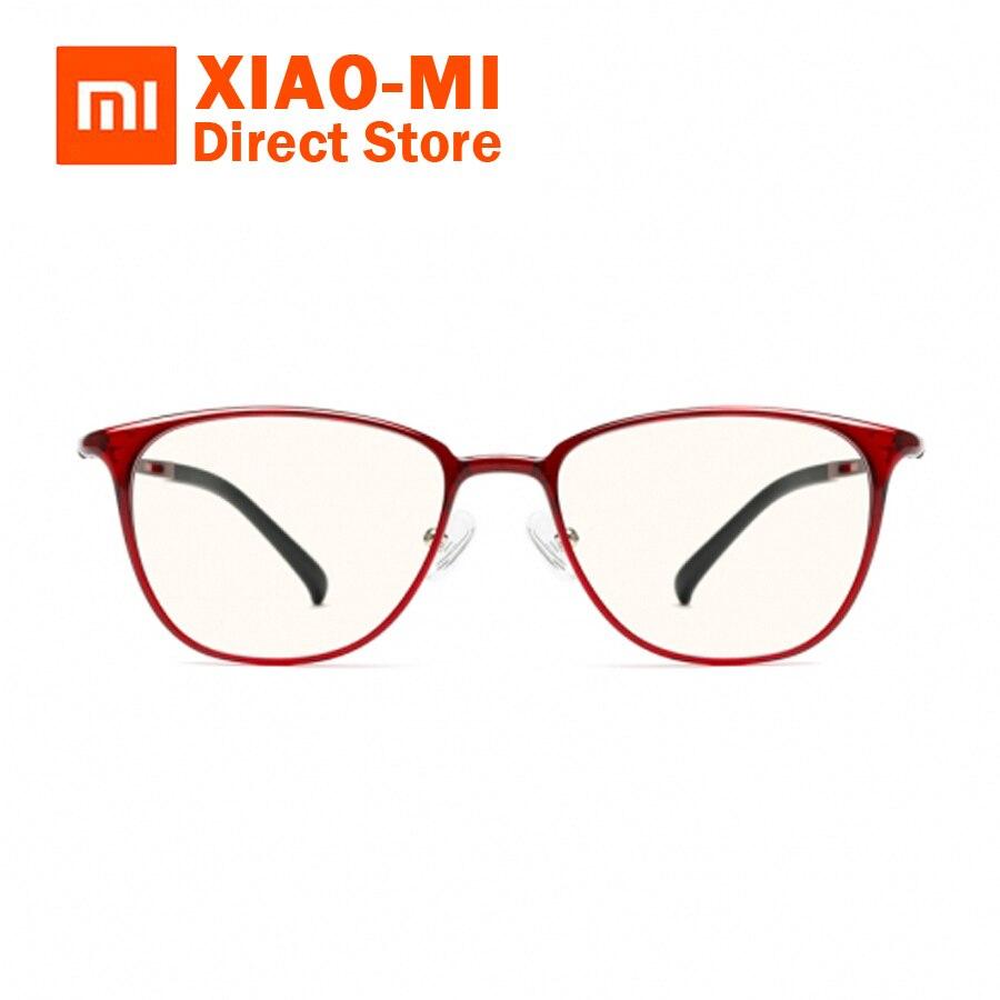 En stock Xiaomi Mijia Personnalisé TS 60% Anti-bleu-Rayons Lunettes 100% 54941d55990b