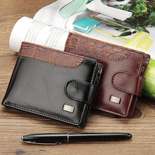 Baellerry Business Short Men Wallets Leather Hasp Men Purse With Coin Pocket Male Money Bag Clutch Card Holder Wallet Cuzdan