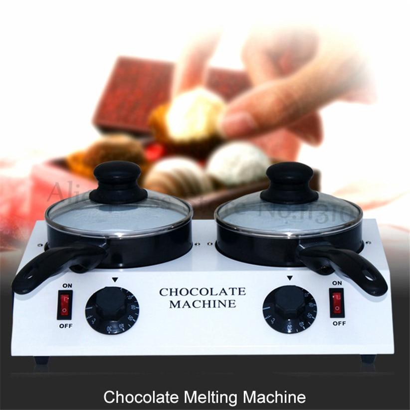 Chocolate Melting Machine Double Pots Fondue Hot H