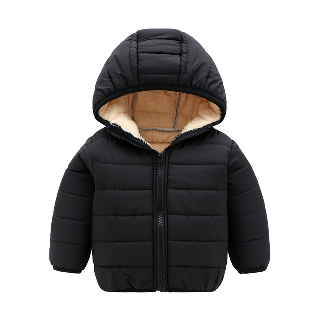 3b52cc2e0a3d Children Winter Jackets Baby Girls Cotton Padded Kids Boy Jacket ...