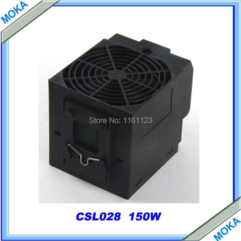 Envío libre de calidad superior 150 W CSL028 pequeño compacto semiconductor ventilador calentador de ventilador calentador