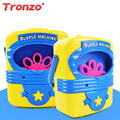 Tronzo 1Pcs Bubble Machine Toys Electric Automatical Handy Bubble Blowing Show Toy Gift For Children Outdoor Toys Wholesale