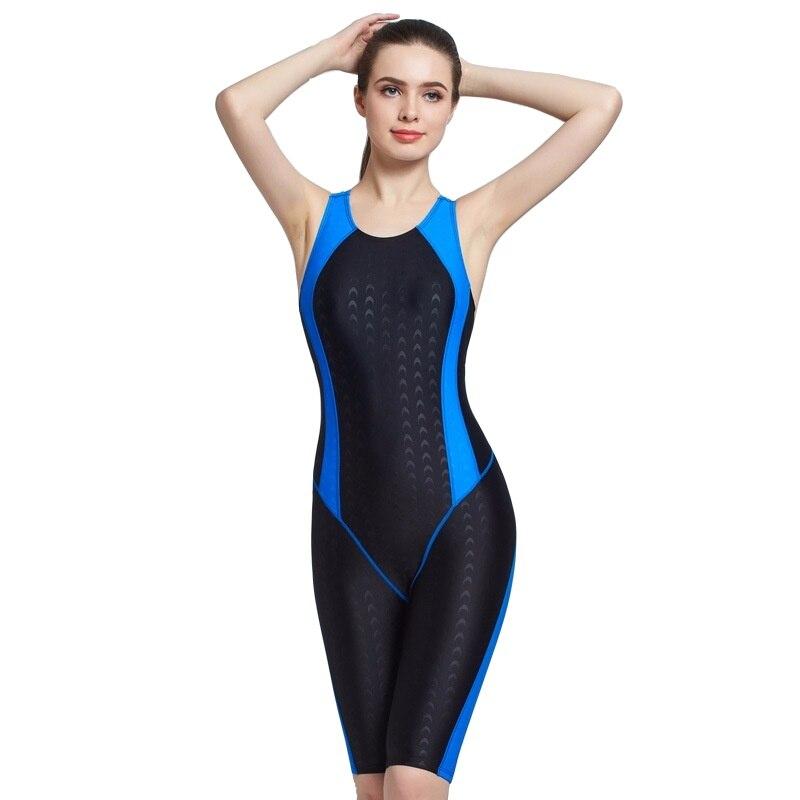 Women Swimwear Arena One Piece Shark Skin Bodysuit Bather Pool 2019 Plus Size Swimsuit Sexy Beach Snorkel Surf Bathing Swim Suit