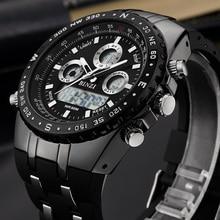 Brand Sports Wrist Watch Men's Military Waterproof Watches Fashion Silicone LED Digital Watch Men Wristwatches