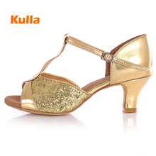 New Women's Latin Dance Shoes Tango Ballroom Dancing Shoes Girls/Ladies Salsa Party High Heels 5/7cm Zapatos Baile Latino Hombre