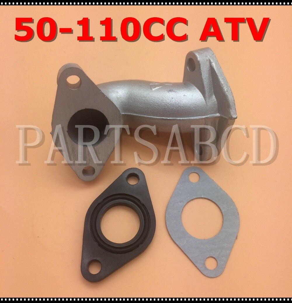 Intake Manifold For 50cc 70cc 90cc 110cc 125cc Chinese ATV Go Kart Dirt Bike