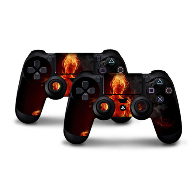 2 pcs Stickers for PS4 Skin Controller Skin for Play Station 4 Stickers ps4 joker PS 4 Sticker Anime Controller Skin God of War  4