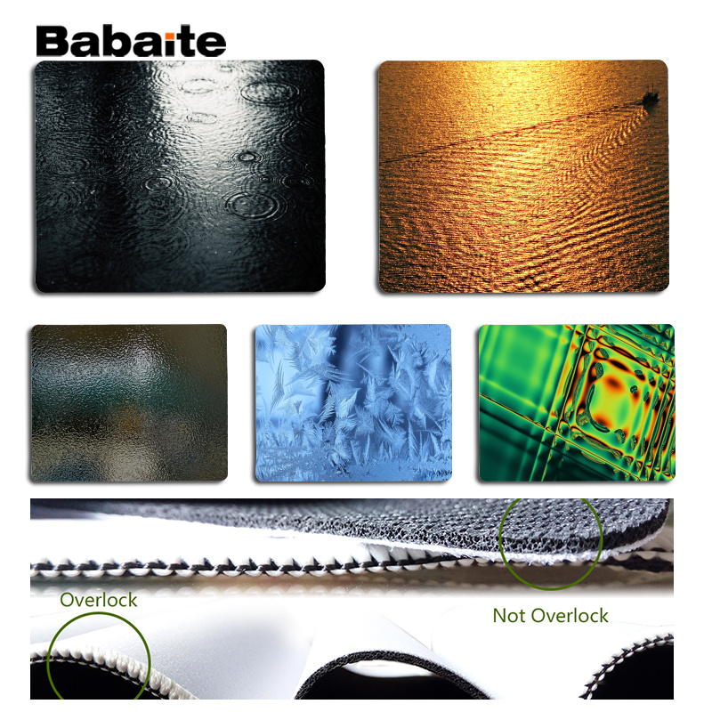 Babaite New Designs Nonopaque Laptop Computer Mousepad Size for 180x220x2mm and 250x290x2mm Small Mousepad