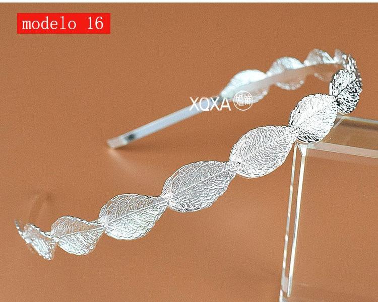 Moda feminina strass cristal cabeca bandagem no cabeca coroa Tiara de noiva de cabelo acessorios (6)