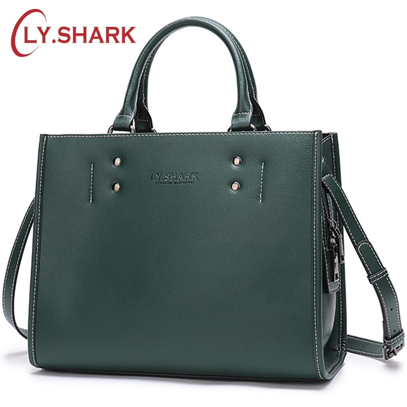 LY SHARK designer Bag Women Handbag Female Bag ladies genuine leather crossbody messenger bag women shoulder
