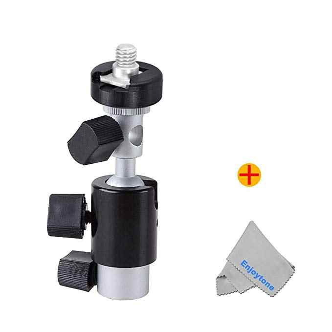 Fomito Universal C Type Camera Flash Speedlite Mount Swivel Balhoofd Light Stand Bracket Paraplu Schoen Houder
