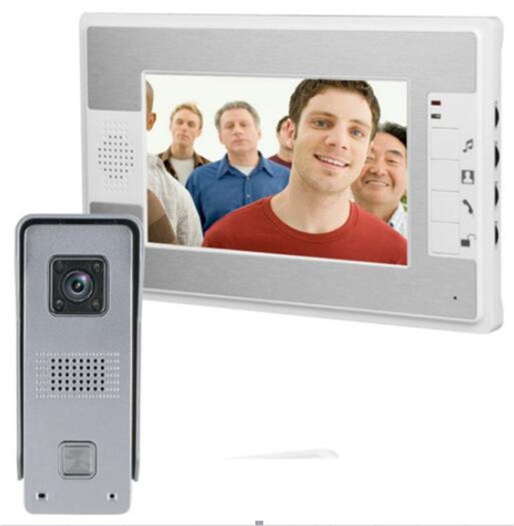 7 Inch 700TVL  Water-proof Video Door Phone