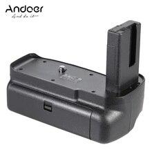 Andoer BG 2F D3300 מחזיק גריפ אנכי סוללה עבור D3200 D3100 של ניקון מצלמה DSLR EN EL 14 סוללה
