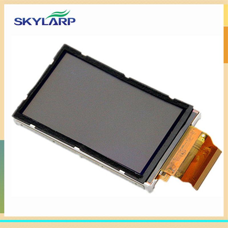 skylarpu 3 inch LCD screen panel For GARMIN OREGON 500 500t Handheld GPS LCD display (without touch) skylarpu 2 2 inch lcd screen module replacement for lq022b8ud05 lq022b8ud04 for garmin gps without touch