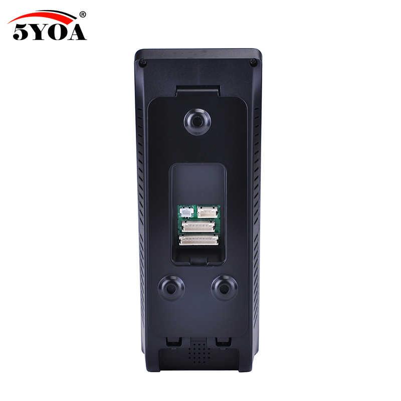 5YOA 5YBM10A biométrique visage empreinte digitale contrôle d'accès temps présence Machine interphone électrique Code système serrure de porte