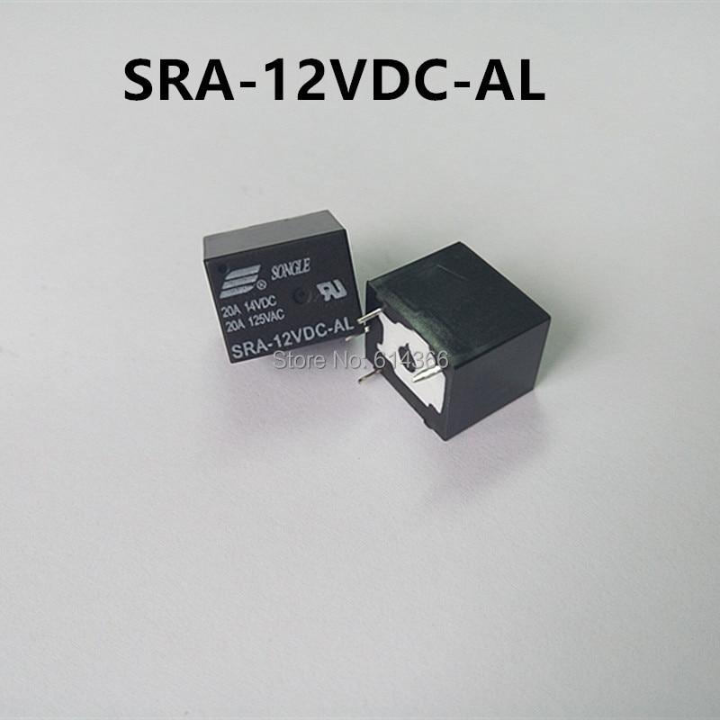 5PCS SRA-AL 4 pin | SRA-12VDC-AL T74 20A 12V DIP4 pcb Type ryad mogador al madina ex lti al madina palace 4 агадир