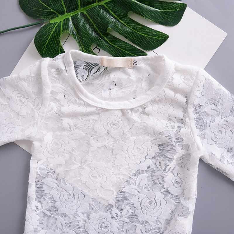 Боди для новорожденных девочек; Кружевная летняя одежда принцессы для маленьких девочек; белый черный комбинезон