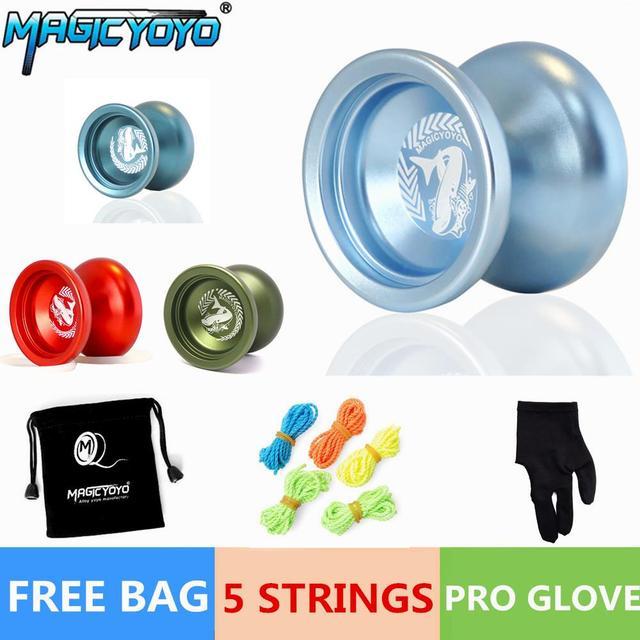 Mágico Del Yoyo N12 Shark Honor Cadena de Alto Rendimiento Profesional Teniendo Yo-yo Ball Bearing Truco Niños Juguetes Educativos Regalos