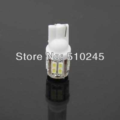 50x Free shipping Car Auto LED T10 194 W5W 20 led smd 3020 Wedge LED Light Bulb Lamp 20SMD White