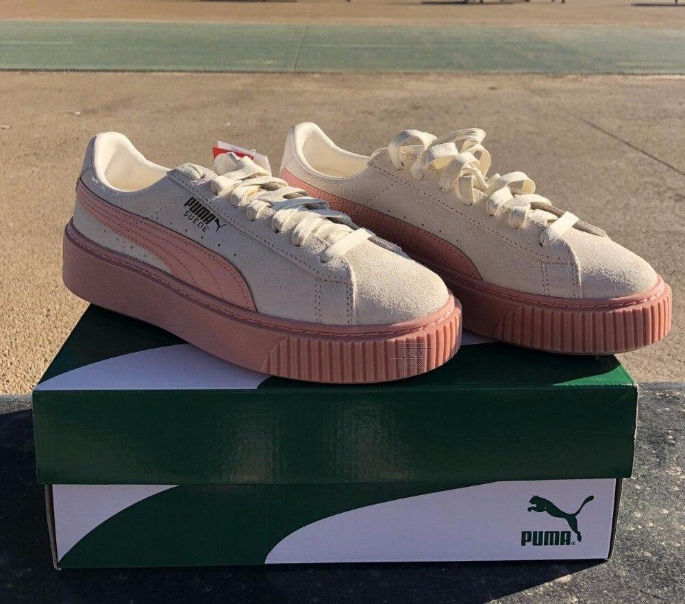 dfe05aabdf2 2018 Original PUMA Suede Classic Women s Sneakers Shoes Badminton ...