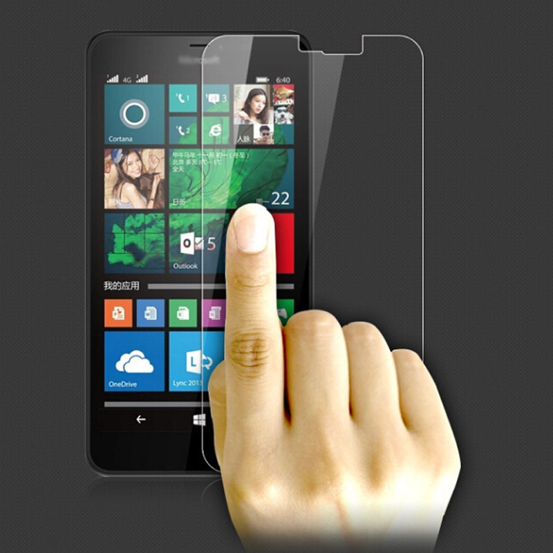 2PCS Glass For Microsoft Lumia 640 XL Screen Protector Tempered Glass For Microsoft Lumia 640 XL Glass Phone Film WolfRule