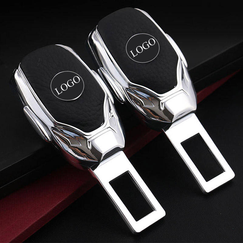 1pcs Top Quality Zinc Alloy Car Seat Belt Clip Extender Safety Belts Plug For Benz Land Rover BMW Audi Ford Honda Volvo Mazda