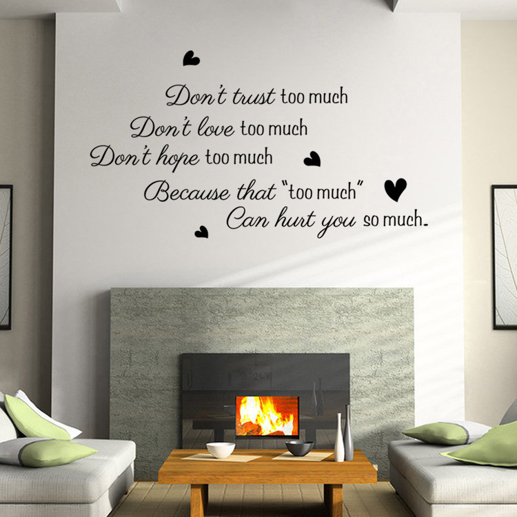 Loved So Much Wall Stickers · Amazing Loved So Much Wall Stickers Part 55
