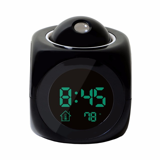 LED Display Time Digital Alarm Clock 2