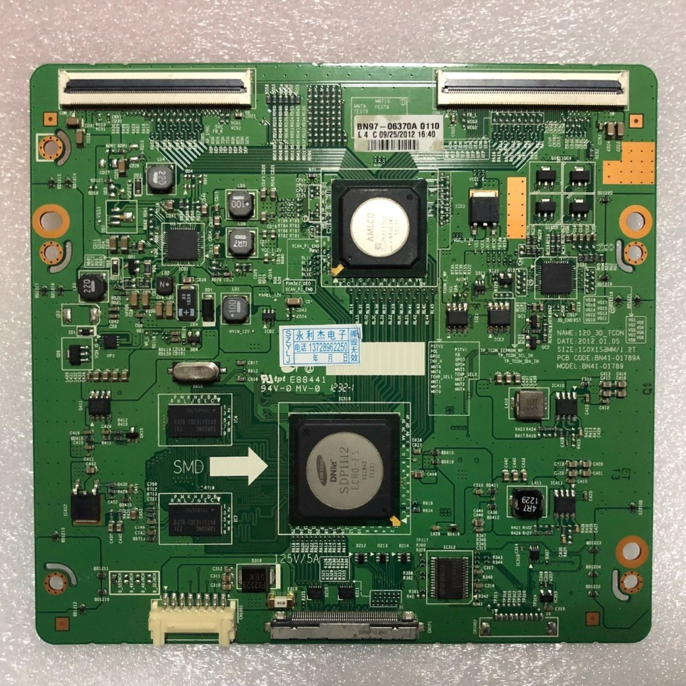 SZYLIJ 1PCS Original UA55ES6700J logic BN41 01789A BN41 01789 with LTJ550HW08 H