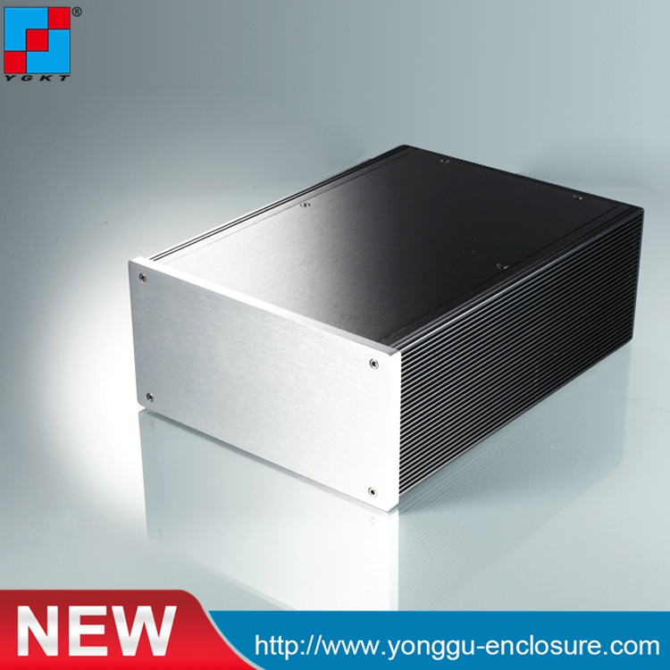 DIY HIFI amplifier enclosure Extrusion Aluminum enclosure Housing shell Box 180*88*250 mm (w*h*l) diy hifi amplifier enclosure extrusion aluminum enclosure housing shell box 180 88 250 mm w h l