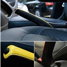 Авто ШЕСТЕРНЯ Рычаг ручной тормоз крышка для Mercedes-Benz Новый Smart Fortwo ForFour 453 внутренняя отделка автомобиля аксессуары модификация