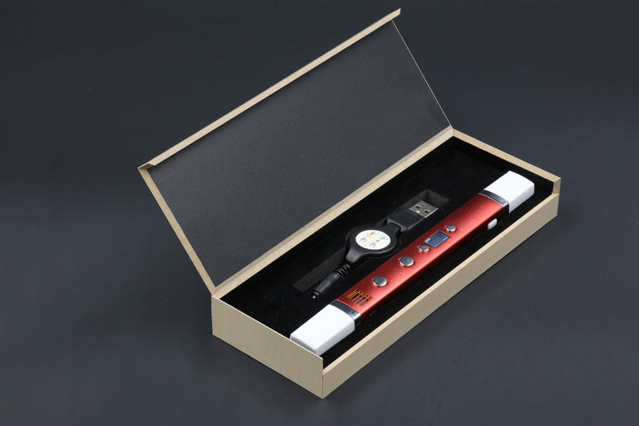 ФОТО 1.75mm ABS/PLA DIY Metal USB 3D Printing Pen Safe LED/LCD 3D Graffiti Pen Painting Drawing Pen Handle For Kids Creative Design