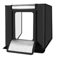 Puluz 60x60 см Аксессуары для фотостудий Софтбоксы Стрельба палатка Софтбоксы light box фото свет палатки + мягкая ткань + 3 фонов + США Plug Мощность сна